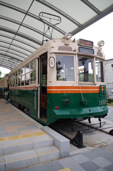 京都市電1605号